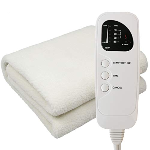 AIDENCOX | 2in1 Deluxe Ultra-Thick Fleece Spa Massage Table Warmer & Cover,Use As A Bed Blanket Warmer