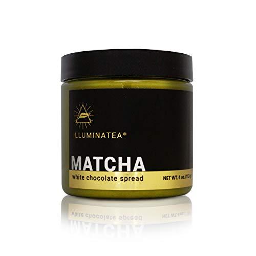 ILLUMINATEA Matcha White Chocolate Spread (4oz)
