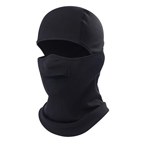Ski Mask Balaclava-Cold Weather Face Mask Windproof Thicken Warmer Anti-fog Outdoor Hood