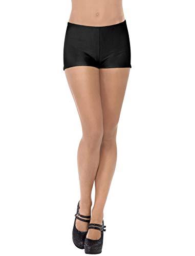 Smiffy's- Mini shorts, negros, Color (31067) , color/modelo surtido