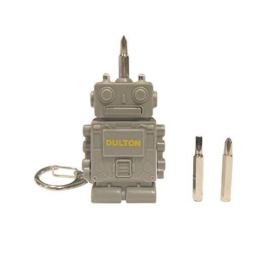 """ダルトン Tool key chain """"Robot"""" K825-1064 ツール キーホルダー グレー"""