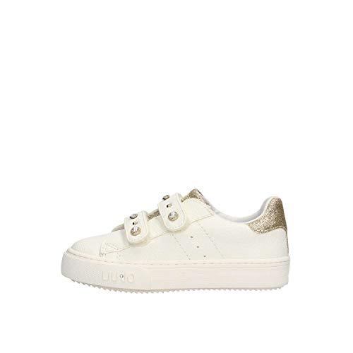 LIU-JO GIRL L1A4-20224-0196X818 Sneakers Bambina Bianco/Oro 22