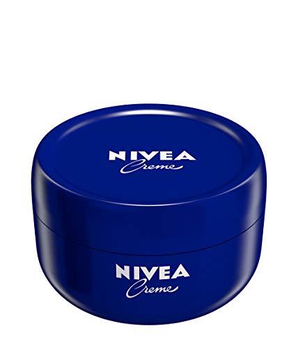 NIVEA Creme Packung mit 3 x 200 ml, feuchtigkeitsspendende Hautcreme, intensiv pflegende Gesichtscreme, Allzweck-Körpercreme für die ganze Familie