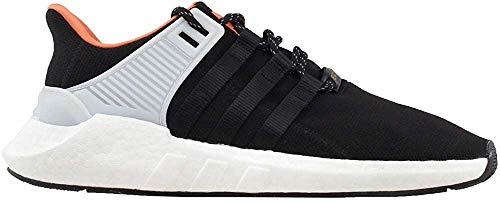 adidas Men's Originals EQT Support 93/17 Shoes (Core Black, Black, White - Size 11)
