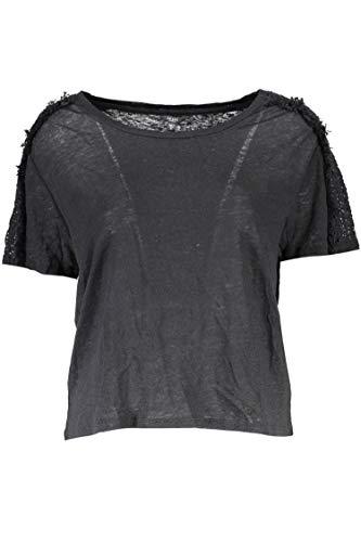 Guess Jeans W72P0AR4W10 T-Shirt mit kurtzen Ärmeln Damen S