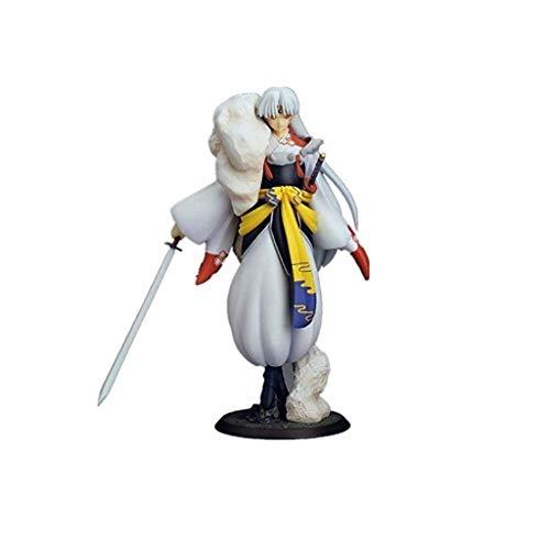 Inuyasha Figura: Sesshomaru PVC Figura De Juguete De Alta 23cm (9inches)