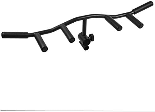 Logest Large Multi Grip T Bar Row Landmine Attachment Straight Grip Weightlifting landmine Handle product image