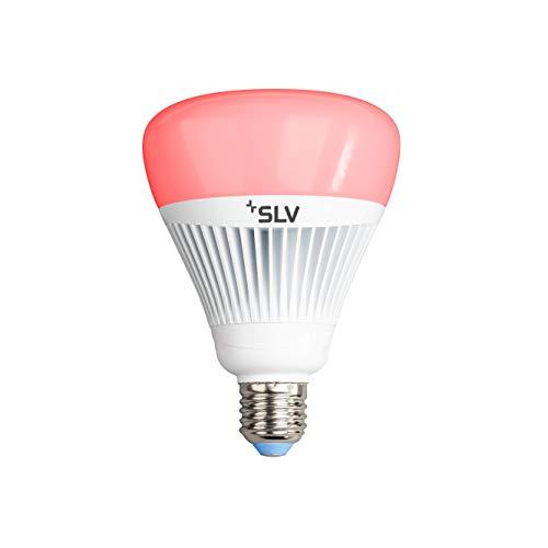 Preisvergleich Produktbild SLV PLAY Smartes LED-Leuchtmittel Wifi,  Mehrfarbige Dimmbare LED Glüh-Birne E27 Lampe,  16 Mio Farben (RGBW),  21W ersetzt 100 Watt,  ohne Hub nutzbar,  WLAN,  Alexa und Google Home kompatibel,  1550 Lumen