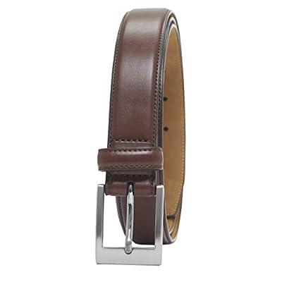 Amazon Essentials Men's Classic Dress Belt, tan, 38