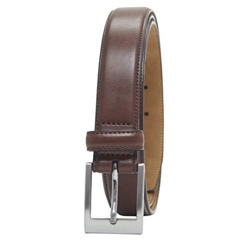 Amazon Essentials – Cinturón de vestir clásico para hombre, Marrón (Tan 251), 42/105