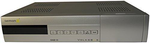 Lemon 042 CI Volksbox - digitaler Satelliten-Receiver (DVB-S, Scart, Common Interface, Teletext, DiSEqC 1.2, Unicable)
