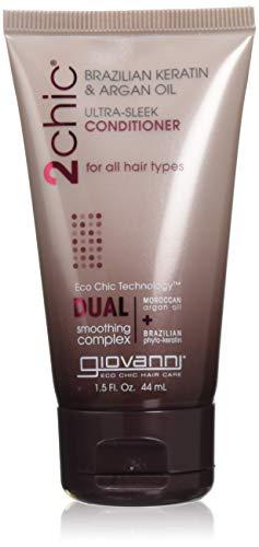 Giovanni 2Chic® Brazilian Keratin & Argan Oil Ultra-Sleek Conditioner,...