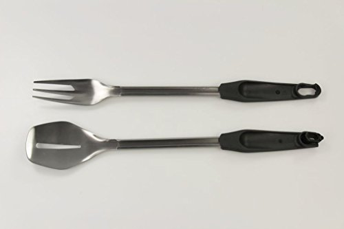 TUPPERWARE Chef-Serie Pro Besteck lila Grillzange/Servierbesteck