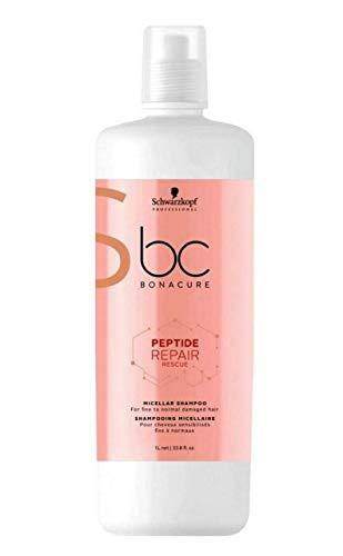 BC Bonacure - Repair Rescue Reversilane - Champú para cabellos dañados finos , 1L