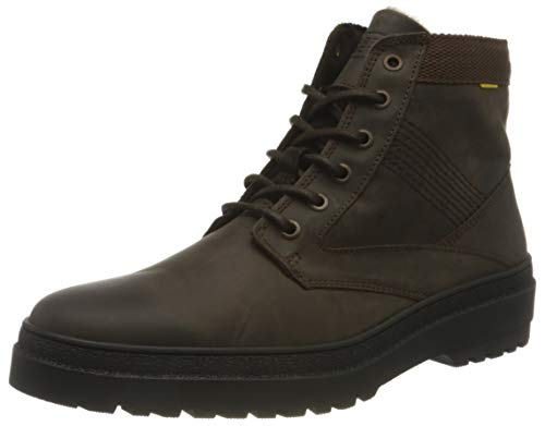 camel active Herren Cross Mode-Stiefel, Dark Brown, 45 EU