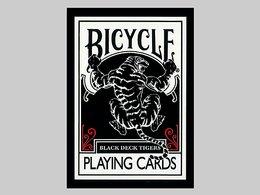 BICYCLE(バイスクル)トランプ/BLACK TIGER(ブラックタイガー)【レッドピップス】