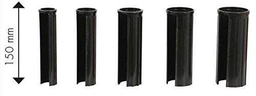Doppler XXL 15 cm Granitsockel-Reduzierringe Innendurchmesser 25, 32, 38, 48 und 52 mm, schwarz Adapter