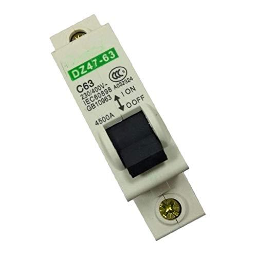 Brightz Interruptor de aire Interruptor 1P63A aire de interruptor de protección 1P63A 230-400V