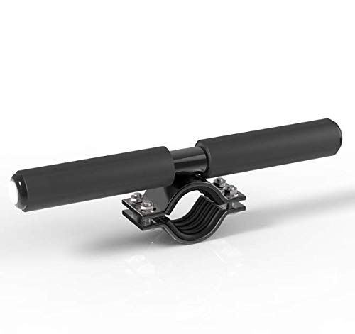 WELLSTRONG Kid Safe Handle Adjustable Grips Bar with Warning Light Replacement for Xiaomi Mijia M365 Electric Scooter Children's Handrail(Black)