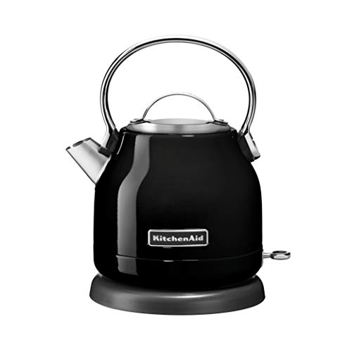 KitchenAid KEK1222OB 1.25-Liter Electric Kettle - Onyx Black,Small