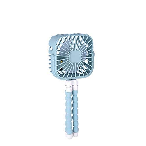 XBYMAI-kdfrdsd ventilador usb, Mini cochecito del ventilador de 600 mAh portable personal del Escritorio del asiento del coche del ventilador portátil USB recargable con pilas del ventilador