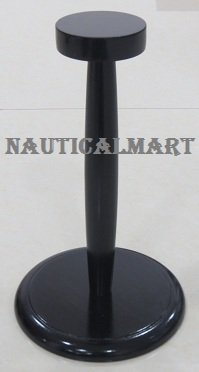 NauticalMart Medieval Armor Helmet Stand in Black