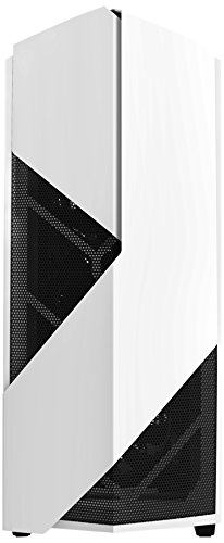 NZXT Noctis 450 Midi-Tower Blu, Bianco vane portacomputer