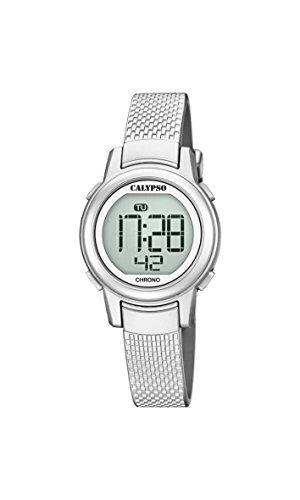 Calypso Reloj Digital para Mujer de Cuarzo con Correa en Plástico K5736 1