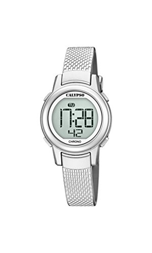Calypso Damen Digital Quarz Uhr mit Plastik Armband K5736/1