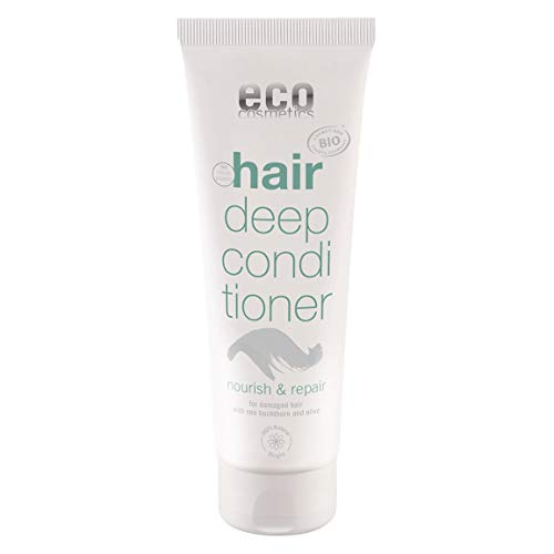 eco cosmetics Haarkur, Deep Conditioner, vegan, ohne Mirkoplastik, 1x 125ml