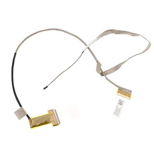 KESOTO Cable Flexible de Pantalla LVDS LCD LED Pieza de Repuestos para ASUS X550V Y581L F550L F550C X550C X550VC, Tamaño: 570mm