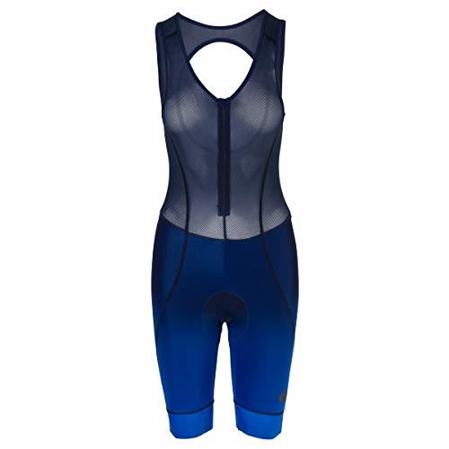 AGU Prime Fietsbroek met Zeem Trend Dames - Met Bretels - Blauw - XS