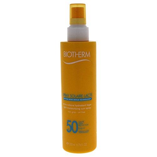 Protetor Solar Spray Solar Biotherm Lacté Hidratante SPF50 200ml