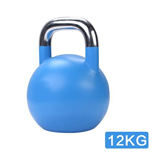 Kettle, 4kg, 6kg, 8kg, 12kg, 16kg, 20kg Farbe Kettle Gewichte Set, Gusseisen Gewicht mit Vinyl-Beschichtung, Geeignet für Gym Fitness Gewichtheben,12kg