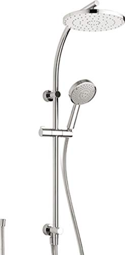 Duschsystem Techno KB 250 m.Schl.150cm Handbr.Techno 120 3-str.verchromt Nikles NIKDSTEC2612