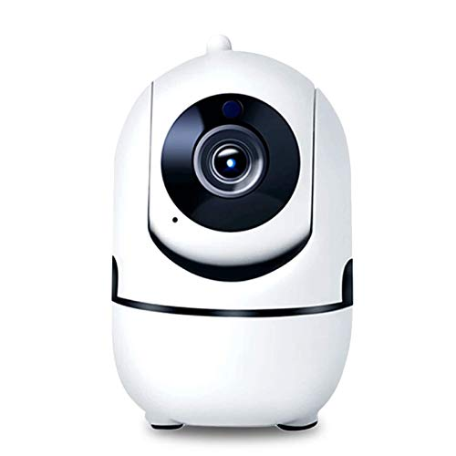 LLKK 1080P Full HD Cámara IP inalámbrica Wifi IP CCTV Cámara WiFi Mini red de videovigilancia Cámara de seguimiento automático Cámara de visión nocturna (color: 32 GB)