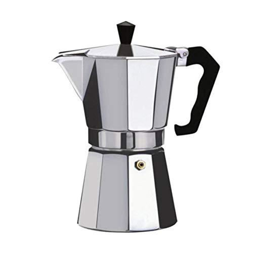 OKAYOU ホームセットコーヒーメーカーアルミモカエスプレッソパーコレーターポットコーヒーメーカーモカポットエスプレッソショットメーカーエスプレッソマシン