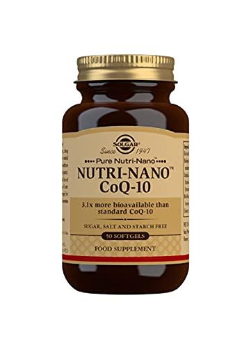 Solgar CoQuTen Platinum Edition, Integratore Alimentare Nutri Nano a Base di Coenzima Q10, 50 Perle