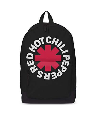Red Hot Chilli Peppers Chili Asterix Klassischer Rucksack, Medium, Black