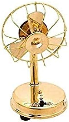 RK CREATION Steel Home Miniature Brass Fan Model Toy Fan