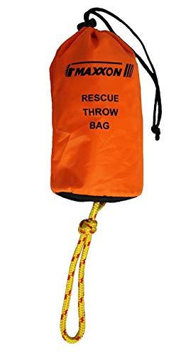 """Maxxon Rescue Throw Bag RTB-1001 Bag, Orange, 3/8"""" x 75'"""