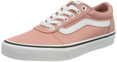 Vans Damen Ward Sneaker, Canvas Rose Dawn Weiß, 41 EU