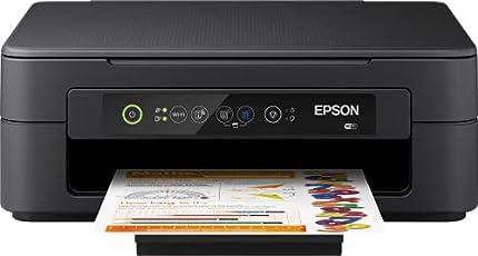 Epson XP-2100 Expression Premium - Impresora Multifunción 3 en 1 (Impresora, Escáner, Fotocopiadora, Wi-Fi, Cartuchos Individuales, 4 Colores, A4), color Negro