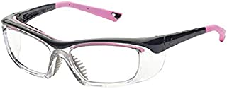 OnGuard OG-220S Rx Safety Eyewear Plano Protective Lenses 55mm Pink Small