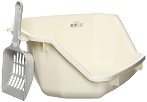 IRIS USA Small Animal Litter Pan, White FG-330 586295