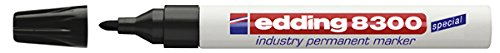edding Permanentmarker edding 8300 industry, 1,5-3 mm, schwarz