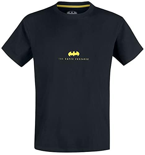 Batman Gotham City Guardian Hombre Camiseta Negro XXL, 100% algodón, Regular