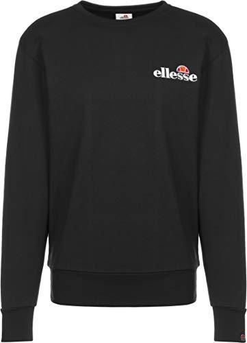 ellesse Sweater Herren FIERRO Sweatshirt Schwarz Black, Größe:S
