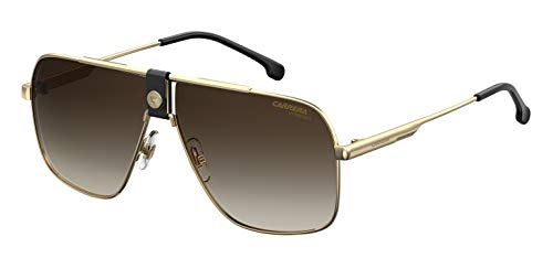 Carrera 1018/S Gafas, Gold/Bw Marrone, 63 Unisex Adulto