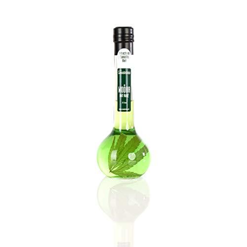 Cannabiskaja Wodka mit echtem Hanfblatt 37,5% vol. 0,2 Liter